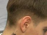 Мужская стрижка бритвой