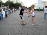 Сальса на Советской 31.07.2011 Александр Мельников и Алёна Добронравова